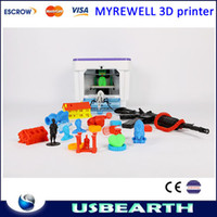 Cheap Free shipping 3D Printer Interface Household Type Of Printer ABS PAL Extrusion Machine, made in China desktop printer 3d