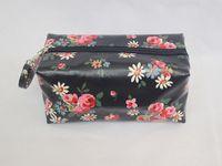 Wholesale Hot Korean Flower Cosmetic Bags Waterproof Makeup Storage Bag Name Brand Purse Cases Ladies Clutch Handbags TB0001