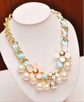 Wholesale Sweater Chain pendant necklace Collarbone adornment necklace LD078