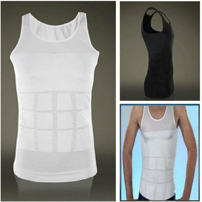 New Design Slim Fit Men's Fashion Shirts Body Shaper ...