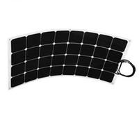 pv solar panel - Back contact sunpower cell Efficiency Mono Bendable Flexibel W solar energy PV panel module For RV Boat Yacht Motorhome