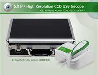 Wholesale NEW M Pixels High Resolution USB Left Right lamp Iridoscope Iridology Iriscope Iris camera Iridoscope camera EH U