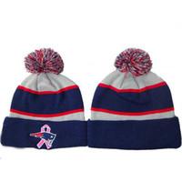 Patriotas Skullcaps Top Fútbol Beanie Sombreros de moda de punto Caps Gorros Hombres Mujeres barato aire libre Headwear recién nacido equipo Gorros