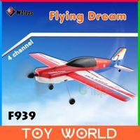 Cheap Free Ship WLtoys F939 RC Airplane Plane Model RTF Remote Control Toys RC Glider Electric Aeromodel FPV Paraglider 2014 New