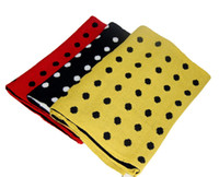 Cheap Zither scarf faux dot scarf cashmere yarn muffler scarf cape