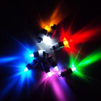 12pcs LED Clignotante BALLON de la Lumière Pour Lanterne de Papier Floral mini led veilleuse Lumineuse et Colorée pour la Célébration de la fête de Noël