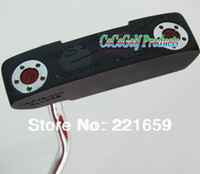 Wholesale HOT NEW Putter Clubs black model select H golf Putter color with Putter headcover EMS