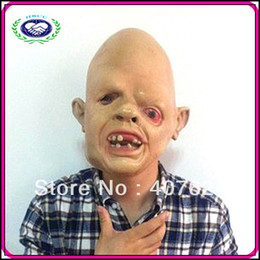 Wholesale Hot Selling China Manufacturer Fancy Costume Horror Mask Natural Emulsion Halloween Scary Masks For Sale