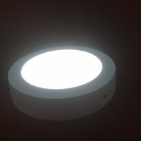 Wholesale High quality W W W Led Panel Light Round AC85V V Led Lamp Suitable for Kitchen Bathroom Bedroom Corridor