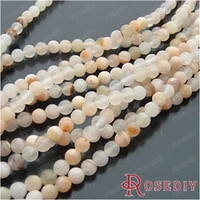Wholesale Fashion Natural Beads Accessories MM Natural Jade Translucent Round Beads