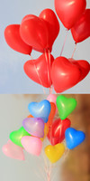 Wholesale High quality wedding heart shaped balloons to marry thickened heart shaped balloon balloons increase mounted shelf