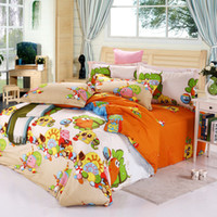 Wholesale Printed cotton twill denim cotton kit genuine factory supply of special bedding