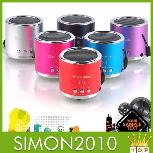 z 12 portable mini music speaker manual