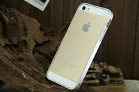 Wholesale Ultra thin metal aluminum space frame aluminum frame apple iphone4s s metal shell phone