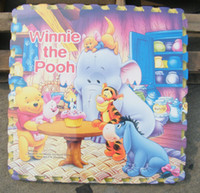 Wholesale Priced at direct Futura FS Disney puzzle mat children crawling mat four loaded earth