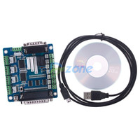 Cheap CNC 5 Axis Breakout Board Interface Adapter For Stepper Motor Driver Mill Input#58956