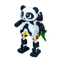 Wholesale Genuine Smart cool cartoon happy panda Bao Bao Cool toys deformation robot puzzle Island