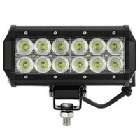 "60 Degree 2800 LM 7 2pcs Super Bright 7"" 36W Cree LED Work Light Bar Lamp Tractor Boat Off-Road 4WD 4x4 12v 24v Truck SUV ATV Spot Flood Working Light"