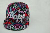 Wholesale 2014 New Popular Geometric Pattern Colorful Fashion Baseball Cap Men Women Hip Hop Hat