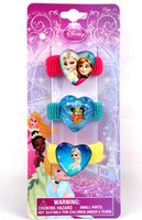 Wholesale 9 off in stock New frozen elsa anna Princess towel ring Children s hair accessories Multi color drop shipping hot sale on sale FN