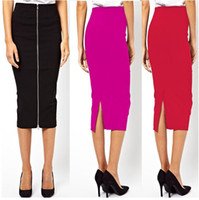 27 - New Fashion Party Evening Skirt Summer Women Casual Cotton Blends Plus Size Skirts Size S M L XL XXL