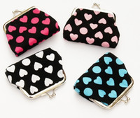 Wholesale 2014New fashion mini women girl shivering Coin purse money wallet burse coin purse mix color A03
