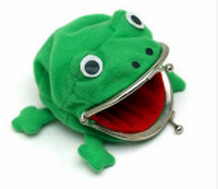 Wholesale Frog Wallet Anime Cartoon Wallet Coin Purse Manga Flannel Wallet Cute purse Naruto Coin holder