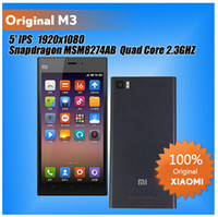 xiaomi mi3 wcdma - Original Xiaomi Mi3 Mi M3 GB Quad Core WCDMA Mobile Phone quot IPS x1080 GB RAM Snapdragan MP Android MIUI