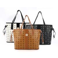 Wholesale Women handbags MCM leather bags luxury famous brand MCM shoulder bags designer handbags high quality totes purses model
