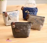 Wholesale fashion New Vintage Zipper Coin Purse wallets Mini bag Bolsas Bolsos