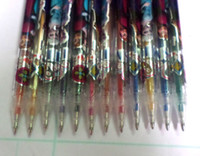 Wholesale New Arrive Product set Pen Cartoon Frozen color cartoon students Glitter Pen Stationery