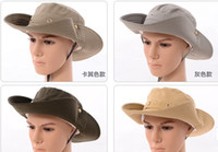 Wholesale Summer fishing cap Endurables Airflo Hat quick drying mountaineering cap folding big hat summer outdoor hat bucket for men and women H