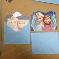 christmas cards - FROZEN Children Gift Cards Frozen Children s postcards birthday party supplies invitation card cardboard Greeting card christmas gifts