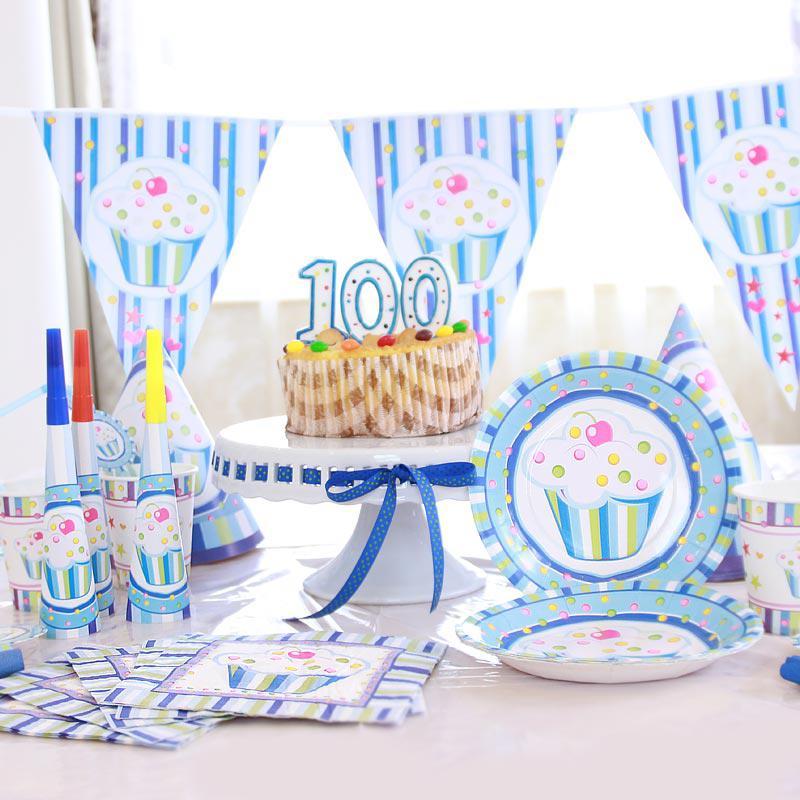 Birthday party decoration boy baby 100 days