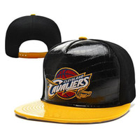 Wholesale Basketball Hats Cavaliers Snapback Hats High Quality Team Caps Fashion Ball Caps Cheap Flat Brim Cap Hot Sale Hats Popular Headwear
