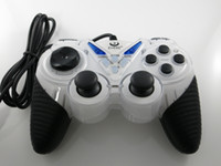Wholesale 1 M Long Cable White Antiskid Handle USB Wired Game Controller Joystick Joypad Gamepad for Computer Tablet Laptop PC