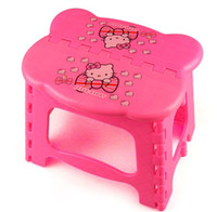 Cheap Best For Camping And Fishing Hello Kitty Garden Stool,Lovely Children Cartoon Folding Stool Chair,Loding Weight 75 Kg,Wholesale