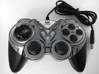 Wholesale Light Gray Textured Nonslip USB Wired Plastic Game Controller Joystick Gamepad for Computer Tablet Laptop PC