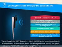 Wholesale V ONE Bluetooth Universal Stereo Wireless Headset VOYO V1 for iPhone Samsung etc Music NFC Business Handsfree Headphones Earphone