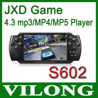 Wholesale New New Arrival in Game player JXD S602B Dual Core MB RAM GB ROM Android wif GHz HDMI Game Console pad