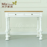 Wholesale European retro elm furniture student desk console table desk desk desk desk Lucy