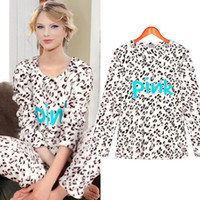 Wholesale LINDA new winter female leopard flannel pajamas casual tracksuit suit T1943