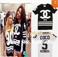 printed shirt tee - Cotton Men s and women Letter Print Short Sleeve T shirt Channel Shirts O Neck Tees Blouse