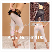 Cheap 2 Pcs lot Hot Fashion Sexy Men & Women Semi See-through Seamless Tights Shorts Pants Trousers NZ23+free shipping