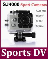 Precio de Camera underwater-SJ4000 la acción del casco Deportes cámara de la leva 30M subacuática impermeable Full HD 1080p de video Cámaras Deporte Deporte Helmetcam DV 10Pcs / lot