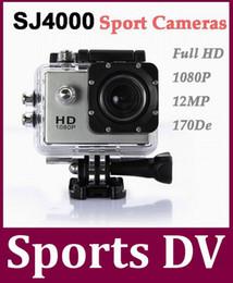 SJ4000 Helmet Action Sports Cam Camera 30M Underwater Waterproof Full HD 1080p Video Helmetcam Sport Cameras Sport DV 10Pcs lot