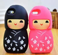 Cheap For Apple iPhone doll case Best Silicone  phone case