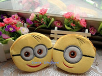 beauty backpack - NEW SALE Yellow Minions IN Despicable ME Coin Purse Wallet Pouch Case BAG Pendant Bags Pouch Beauty Holder BAG Handbag