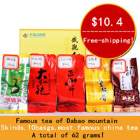 Wholesale Supernova sale kinds bags superfine Tie Guan Yin Dahongpao Lapsang souchong Jinjunmei Top quality TieGuanYin