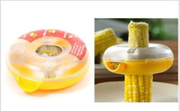 Wholesale New Kitchen Tool Peeler Doughnut Shaped Washable One Step Corn Stripper Thresher Peeler
